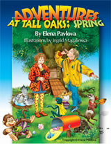 Adventures at Tall Oaks, cover